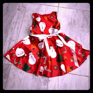 Ayomis Tea Length Holiday Dress (2-3 yrs)